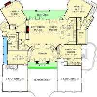 Double Master Suite Floor Plans