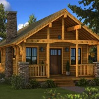 Small Log Homes Floor Plans