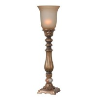 Table Top Torchiere Lamp
